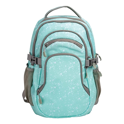 "Pembroke 18"" Backpack, Mint & Grey (54946)"