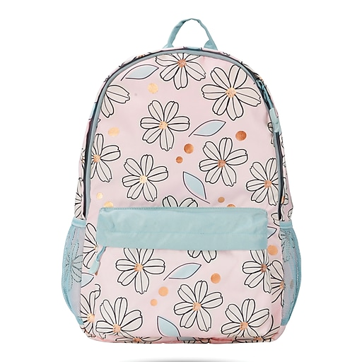 "Lola & Chloe 18"" School Backpack, Floral (54926)"