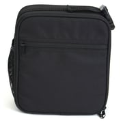 Square Lunch Bag, Black (52442)