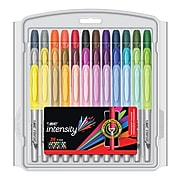 BIC Intensity Permanent Marker, Fine Point, Assorted Colors, 36/Pack (GPMXP361-AST)