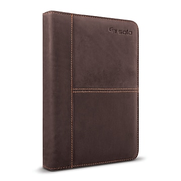 """Solo New York Premiere Leather Universal Tablet Case, 5.5"""" up to 8.5"""" VTA138-3, Espresso"""