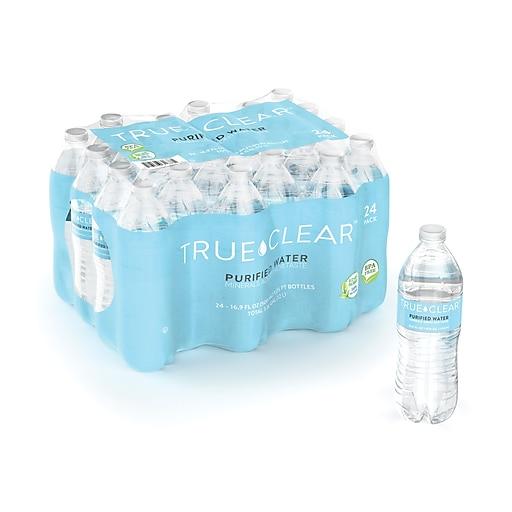 True Clear™ Purified Bottled Water, 16 9 fl  oz  Bottles, 24/Carton  (TC54594)