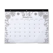 """2020 Monthly Color Your Own Calendar, 11"""" x 8-1/2"""" (56444-20)"""
