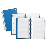 "2020 Staples 5"" x 8"" Daily Appointment Book, Blue (52180-20)"