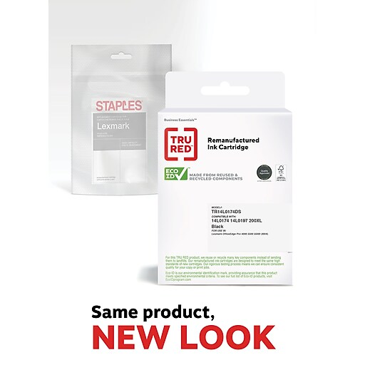 TRU RED™ Lexmark 200XL (14L0174) Black Remanufactured High Yield Ink Cartridge