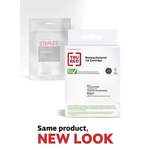 TRU RED™ Lexmark 200XL (14L0176) Magenta Remanufactured High Yield Ink Cartridge
