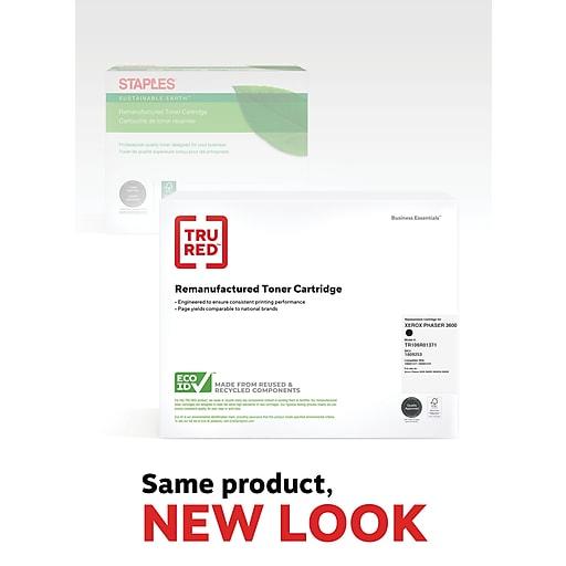 TRU RED™ Xerox (106R01371) Black Remanufactured High Yield Toner Cartridge