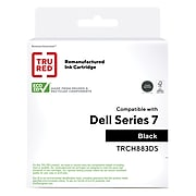 TRU RED™ Remanufactured Black High Yield Ink Cartridge Replacement for Dell Series 7 (CH883)
