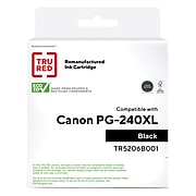 TRU RED™ Remanufactured Black High Yield Ink Cartridge Replacement for Canon PG-240 XL (5206B001)