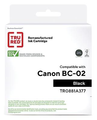 Canon BC-02 Black Ink Cartridge CompAndSave Replacement for Canon BJ-200E Printer Inkjet Cartridge