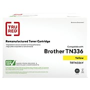 TRU RED™ Remanufactured Yellow High Yield Toner Cartridge Replacement for Brother TN336Y (TN-336Y)