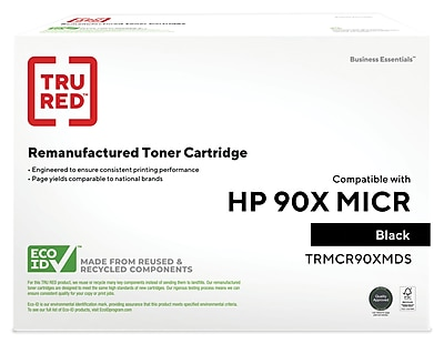InkyDoo MICR Toner Replacement for HP 90X// CE390X HP LaserJet Enterpris 24K Hi-Yield