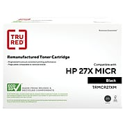 TRU RED™ Remanufactured Black High Yield MICR Toner Cartridge Replacement for HP 27X (C4127X)
