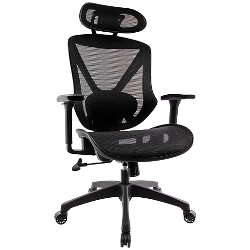 Staples Dexley Mesh Task Chair Black