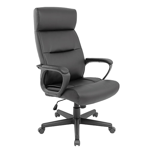 Staples Rutherford Luxura Manager Chair (Black)
