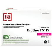 TRU RED™ Remanufactured Magenta High Yield Toner Cartridge Replacement for Brother TN115M (TN-115M)