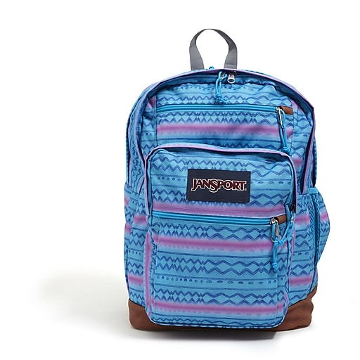 JanSport Cool Student Backpack, Striped, Line Glow (JS0A2SDD67A)