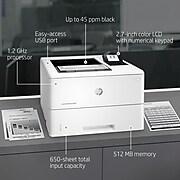 HP LaserJet Enterprise M507n Monochrome Laser Printer with Built-in Ethernet (1PV86A)