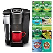 Keurig® K1500 Bundle K-Cup® Coffee Maker with Variety Pack of 192 K-Cup® Pods, Black (611247381212)