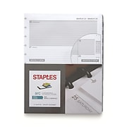 "Staples® Arc System 2020 Weekly Planner Refill Paper, 8-1/2"" x 11"" (28104-20)"