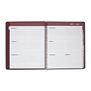 "2020 8.5"" x 11"" Large Weekly/Monthly Planner, Purple (56699-20)"