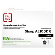 TRU RED™ Remanufactured Black Standard Yield Drum Unit Replacement for Sharp (AL-100DR)