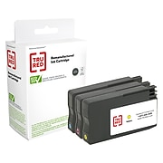TRU RED™ Remanufactured Cyan/Magenta/Yellow Standard Yield Ink Cartridge Replacement for HP 951 (CR314FN), 3/Pack