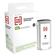 TRU RED™ Remanufactured Black Standard Yield Ink Cartridge Replacement for HP 72 (C9370A)