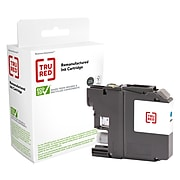 TRU RED™ Remanufactured Cyan Super High Yield Ink Cartridge Replacement for Brother (LC205XXL)