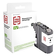 TRU RED™ Remanufactured Black High Yield Ink Cartridge Replacement for Brother LC203BK (LC203BK)