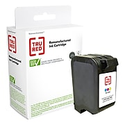 TRU RED™ Remanufactured Tri-Color Standard Yield Ink Cartridge Replacement for HP 17 (C6625A)