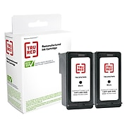 TRU RED™ Remanufactured Black/Tri-Color Standard Yield Ink Cartridge Replacement for HP 96/97 (C9353FN), 2/Pack