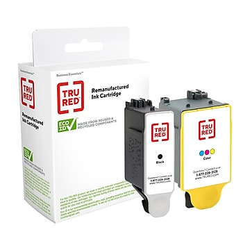 TRU RED™ Remanufactured Black/Tri-Color High Yield Ink Cartridge Replacement for Kodak 30XL (15505322PK)