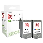 TRU RED™ Remanufactured Black/Tri-Color Standard Yield Ink Cartridge Replacement for Canon PG-40/CL-41 (0615B009), 2/Pack