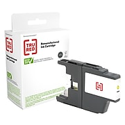 TRU RED™ Remanufactured Yellow High Yield Ink Cartridge Replacement for Brother LC75Y (LC75Y)