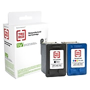 TRU RED™ Remanufactured Black/Tri-Color Standard Yield Ink Cartridge Replacement for HP 56/57 (C9321FN), 2/Pack