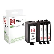 TRU RED™ Remanufactured Black High Yield and Color Standard Yield Ink Cartridge Replacement for HP 902XL/902 (T0A39AN), 4/Pack