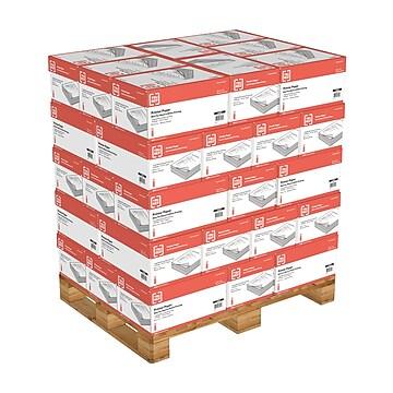 """TRU RED™ 8.5"""" x 11"""" Copy Paper, 20 lbs., 92 Brightness, 500 Sheets/Ream, 10 Reams/Carton, 40 Cartons/Pallet (TR56958D-LQO)"""