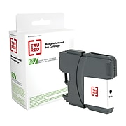TRU RED™ Remanufactured Black High Yield Ink Cartridge Replacement for Brother LC65HYBK (LC65HY-BK)