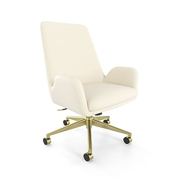 Union & Scale MidMod Fabric Manager Chair