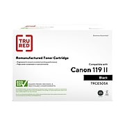TRU RED™ Canon 119 II (3480B001) Black Remanufactured High Yield Toner Cartridge
