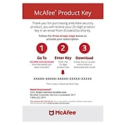 McAfee Total Protection Antivirus Software for 5 Devices (1-5 Users), Download (4KQPKNP9RWD8ATC)