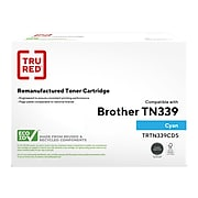 TRU RED™ Remanufactured Cyan Super High Yield Toner Cartridge Replacement for Brother TN339C (TN339C)