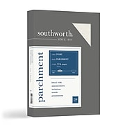 """Southworth Parchment Specialty Multipurpose Paper, 32 lbs., 8.5"""" x 11"""", Ivory, 250/Box (J988C)"""