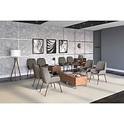 Union & Scale™ Prestige Fabric Guest Chair, Gray (UN56944)
