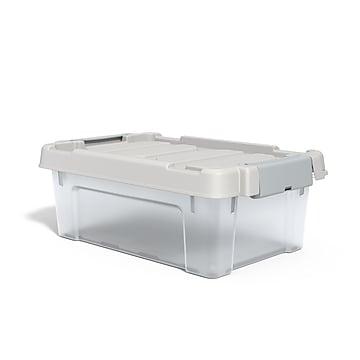 TRU RED™ 12 Qt. Latch Lid Storage Bin, Clear (TR58304)
