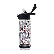 Pep Rally Water Bottle, Black/Clear, 23.6 oz. (58965)