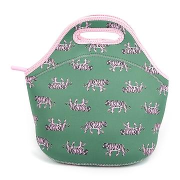 Pep Rally Lunch Bag, Green/Pink (58955)
