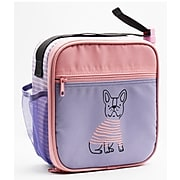 Pep Rally Lunch Bag, Lilac/Coral (58857)