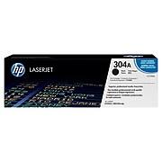 HP 304A Black Standard Yield Toner Cartridge (CC530A)